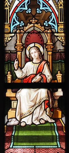 Free Stained Glass, Window, Archdeacon, Religion Stock Image - 107439801
