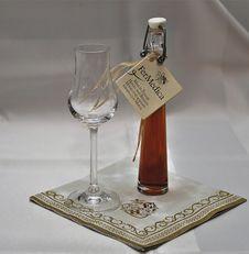 Free Liqueur, Drink, Champagne Stemware, Glass Bottle Royalty Free Stock Photo - 107451605
