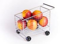 Free Shopping Cart Stock Image - 10752841