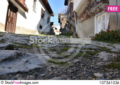 Free Historical Ottoman Houses, Safranbolu, Turkey Royalty Free Stock Image - 107561036