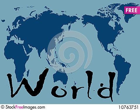Free World Stock Image - 10763751