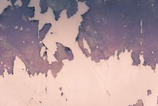 Old Wall With Red Cracked Plaster Filtered Royalty Free Stock Photography