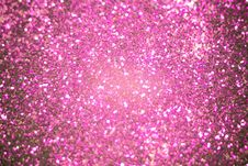 Purple And Silver Glitter Filtered Royalty Free Stock Photo