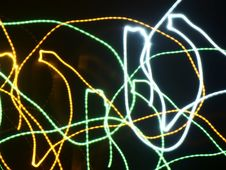 Free Glowing Light Streaks Stock Photography - 107651182