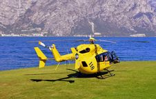 Free Helicopter, Helicopter Rotor, Rotorcraft, Yellow Stock Photo - 107750090