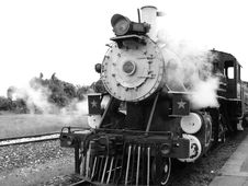 Free Transport, Rail Transport, Locomotive, Black And White Royalty Free Stock Photos - 107750258