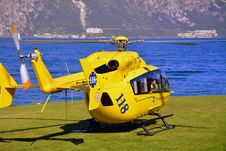 Free Helicopter, Helicopter Rotor, Yellow, Rotorcraft Royalty Free Stock Photos - 107750278