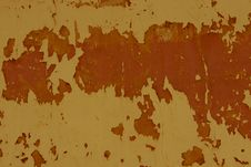 Free Old Wall With Red Cracked Plaster Filtered Stock Images - 107795884