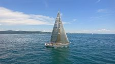 Free Sail, Sailboat, Water Transportation, Sailing Stock Image - 107901251