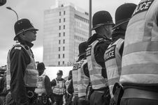Free Police, Black And White, Profession, Militia Royalty Free Stock Photo - 107901275