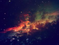 Free Starry Night Sky Scene Royalty Free Stock Images - 107924419