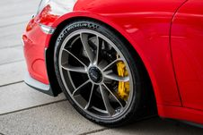 Free Motor Vehicle, Car, Alloy Wheel, Red Stock Photography - 107946062