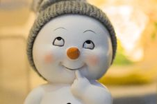 Free Nose, Close Up, Snowman, Figurine Stock Image - 107953161