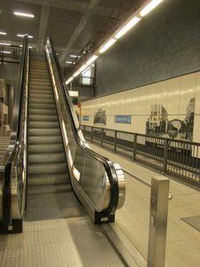Free Escalator, Public Transport, Metro Station, Rapid Transit Stock Images - 107955174