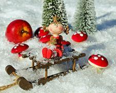 Free Christmas Ornament, Christmas Decoration, Christmas, Snow Stock Images - 107959534