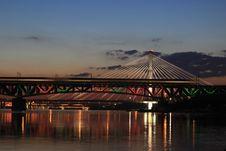 Free Bridge, Reflection, Sky, Landmark Stock Image - 107964831