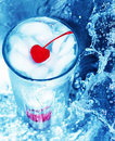 Free Red Cherry In Glass Royalty Free Stock Photos - 1087308
