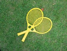 Free Badminton Racquet Stock Photography - 1080172