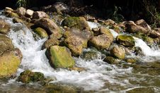 Free Panoramic Rapids Royalty Free Stock Photo - 1080505