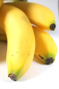 Free Bunch Of Bananas Royalty Free Stock Images - 1080579