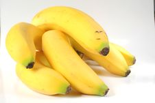 Free Bunch Of Bananas Royalty Free Stock Image - 1080586