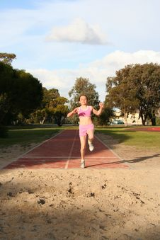Free Long Jump Stock Photos - 1080703