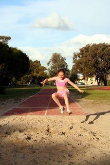 Free Long Jump Stock Image - 1080721