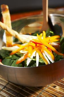 Free Salad Of Peers Stock Photos - 1080993
