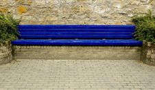 Free Blue Bench Stock Photos - 1081513