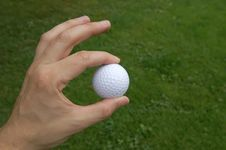 Free Golf Ball Royalty Free Stock Photography - 1082487