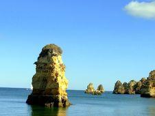 Free Grottos.Lagos IV Stock Photo - 1082790