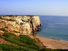 Free Sagres (beach) II Stock Images - 1082834