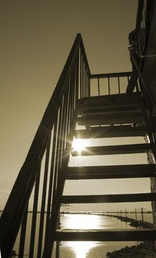Free Stairs To The Sun Stock Images - 1084044