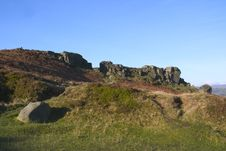Free Cow And Calf Rocks, Ilkley Moor, West Yorkshire Royalty Free Stock Photos - 1084398