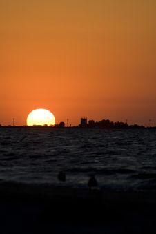 Free Sea Sunrise III Stock Image - 1084801