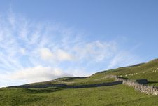 Free Clouds Over Yorkshire Dales Royalty Free Stock Photos - 1084868