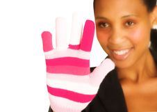 Free Lady With A Glove Stock Photo - 1085090