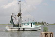 Free Fishing Boat Stock Image - 1085161