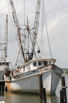 Free Shrimp Boat Stock Photos - 1085163