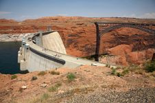 Free Glen Canyon Bridge Stock Photo - 1085860