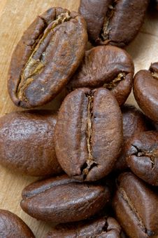 Free Coffee Grains Royalty Free Stock Image - 1086116