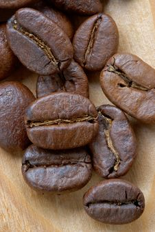 Free Coffee Grains Stock Photography - 1086132