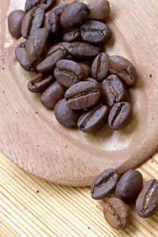 Free Coffee Grains Royalty Free Stock Images - 1086159