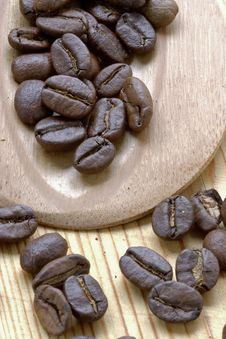 Free Coffee Grains Royalty Free Stock Photo - 1086215