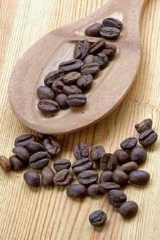 Free Coffee Grains Stock Photography - 1086232