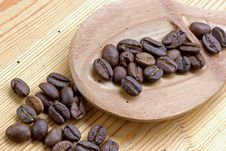 Free Coffee Grains Royalty Free Stock Images - 1086239