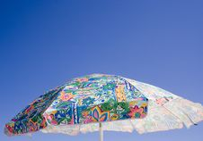 Free Beach Umbrella Royalty Free Stock Photos - 1086778