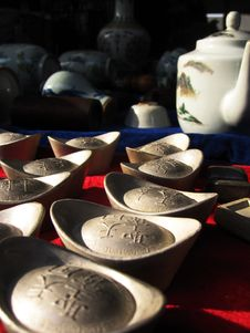Free Silver Money Stock Photography - 1087152
