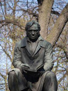 Free Sculpture Of Krylov In The Summer Garden In Saint-Petersburg Stock Images - 1088014