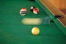 Free Billiard Royalty Free Stock Image - 1088316